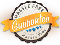 Read our Hassle Free Guarantee.