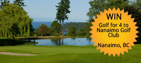Win Golf for 4 to Nanaimo Golf Club