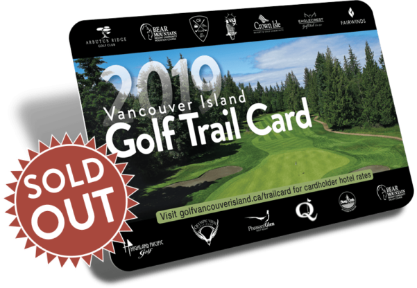 Vancouver Island Golf Trail Card - Golf Vancouver Island