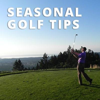 Seasonal Golf Tips from Jordan Ray