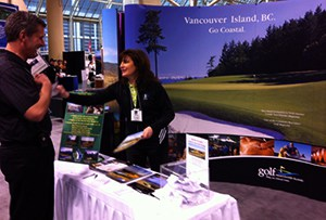 Golf Vancouver Island Travel Specialists at Golf Shows