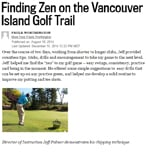Finding Zen on the Vancouver Island Golf Trail