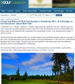 Crown Isle Resort – A solid play on the Vancouver Island Golf Trail