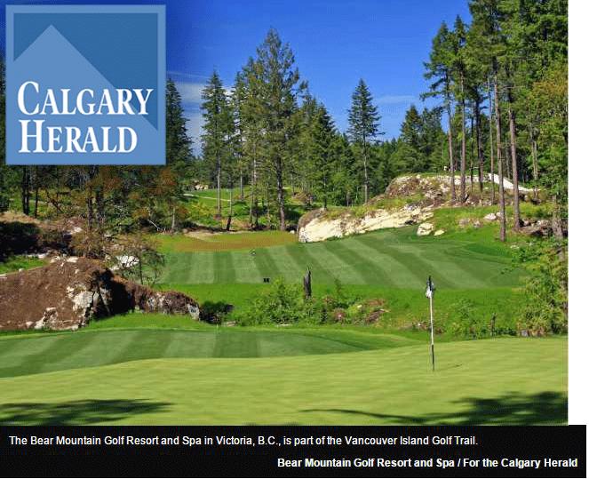 Vancouver Island Golf Trail Beckons