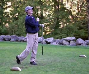 Golf Vancouver Island's Reservation Director Patrick