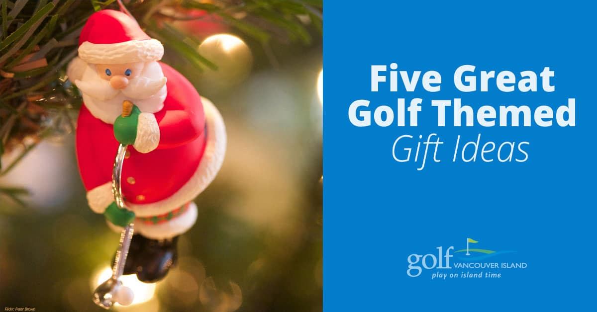Five Golf Themed Gift Ideas