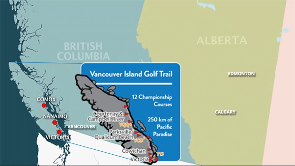 bc golf courses on Vancouver Island