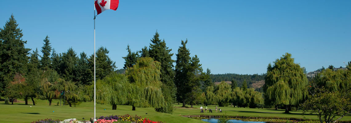 Nanaimo Golf Club 1st Tee
