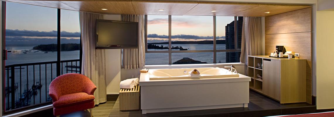 Coast Bastion Hotel Room