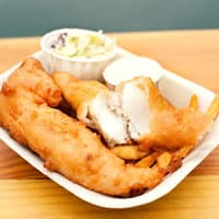 Fish and Chips on Vancouver Island
