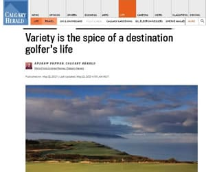 Calgary Herald VI Golf Trail Review