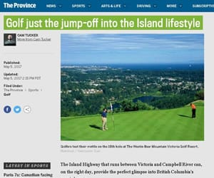 The Province: Golf just the jump-off into the island lifestyle