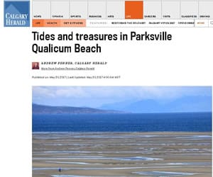 Tides and Treasures in Parksville Qualicum Beach