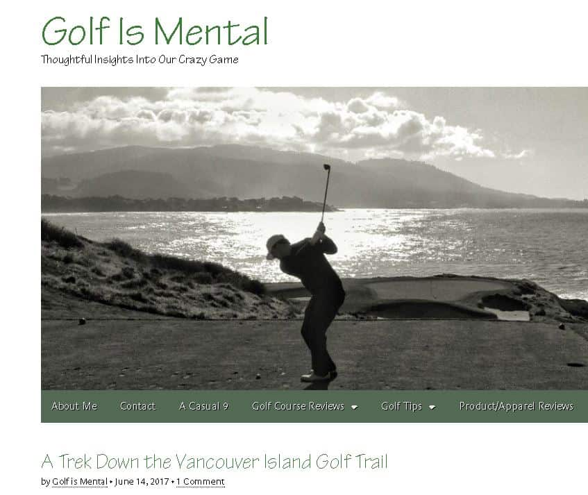 A Trek Down the Vancouver Island Golf Trail