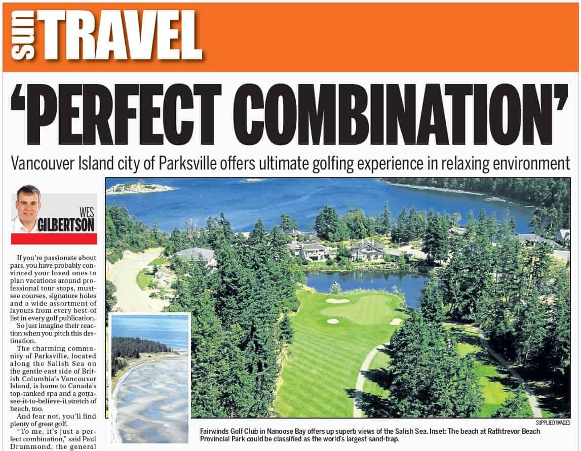 Parksville Golf Escape