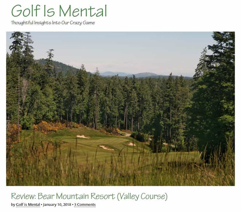 Golf is Mental Review: Bear Mountain Valley Course