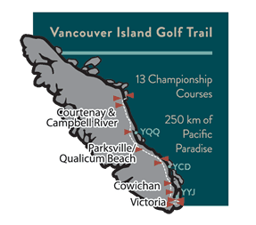 Vancouver Island Golf Trail - 13 Courses