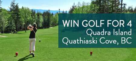 Contest entry golf Quadra Island