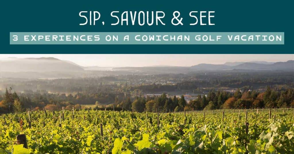 Cowichan golf vacation