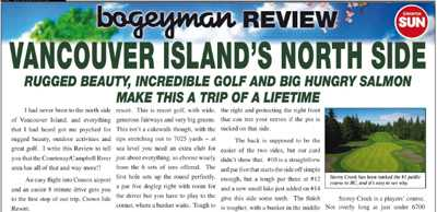 Bogeyman Review: Vancouver Island's North Side