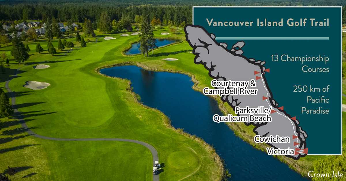 BC's Best Golf Courses on Vancouver Island