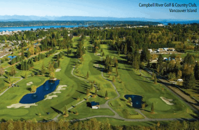 South Florida Luxury Guide visits Vancouver Island Golf Trail