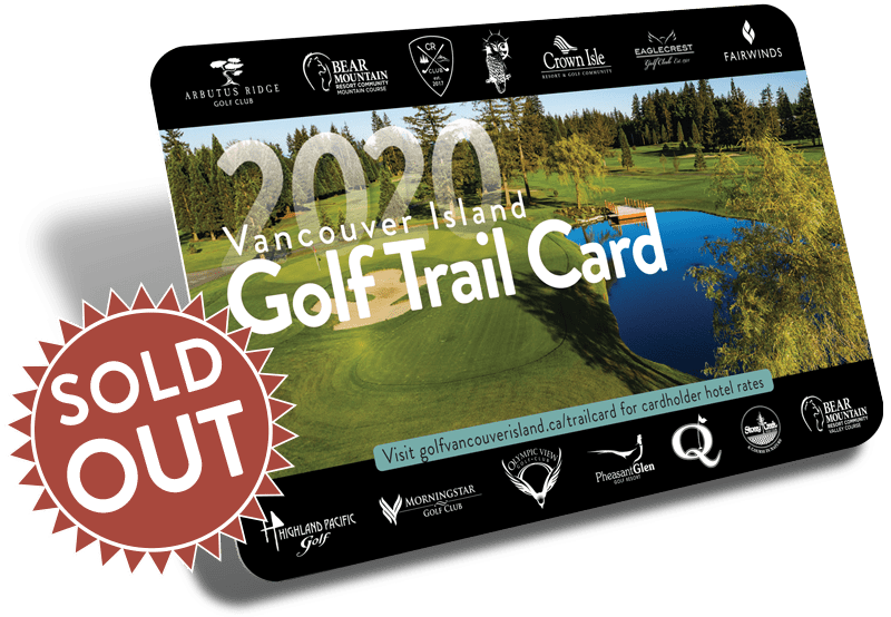 Golf Vancouver Island Trail Card - Sold Out