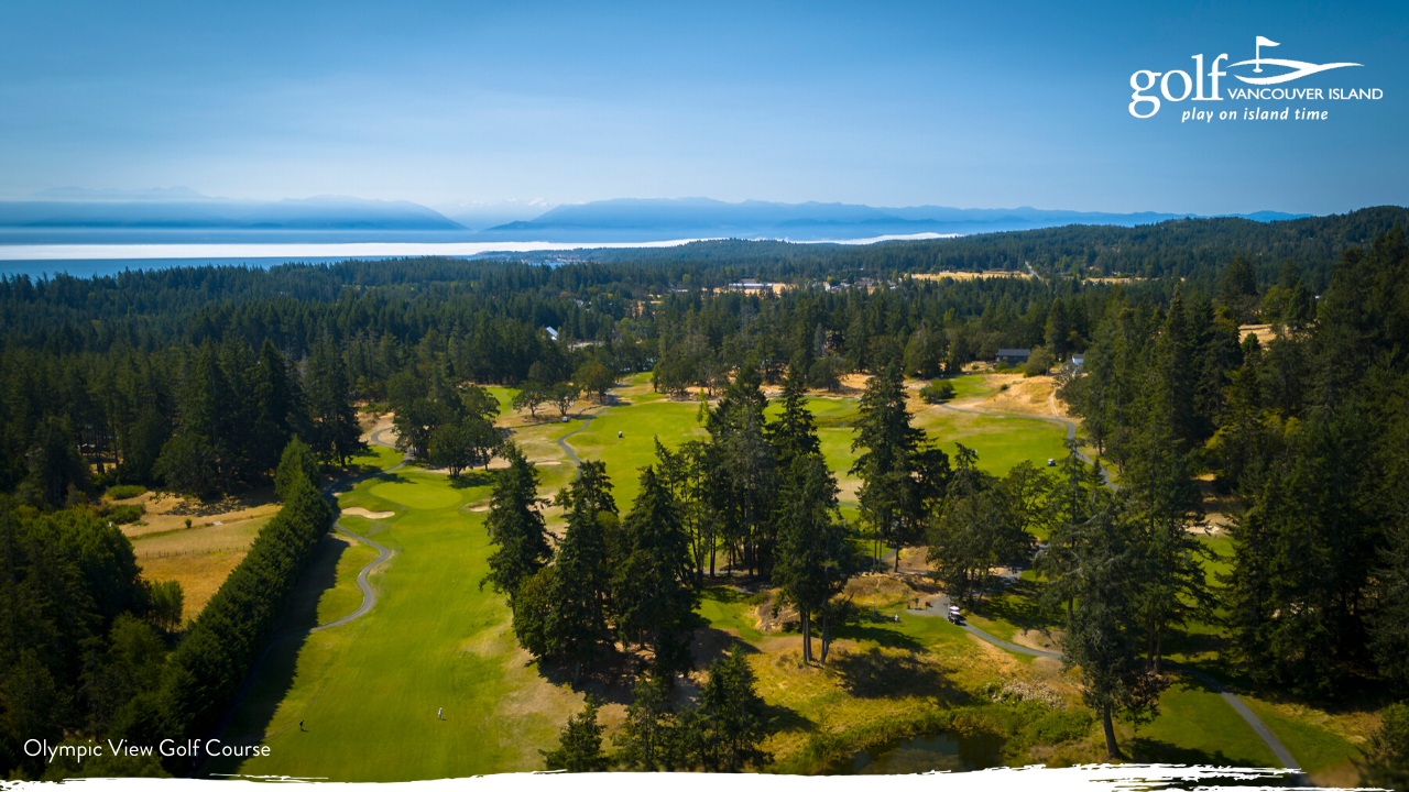 Vancouver Island Golf Course Zoom Backgrounds Tee Up Great Meetings