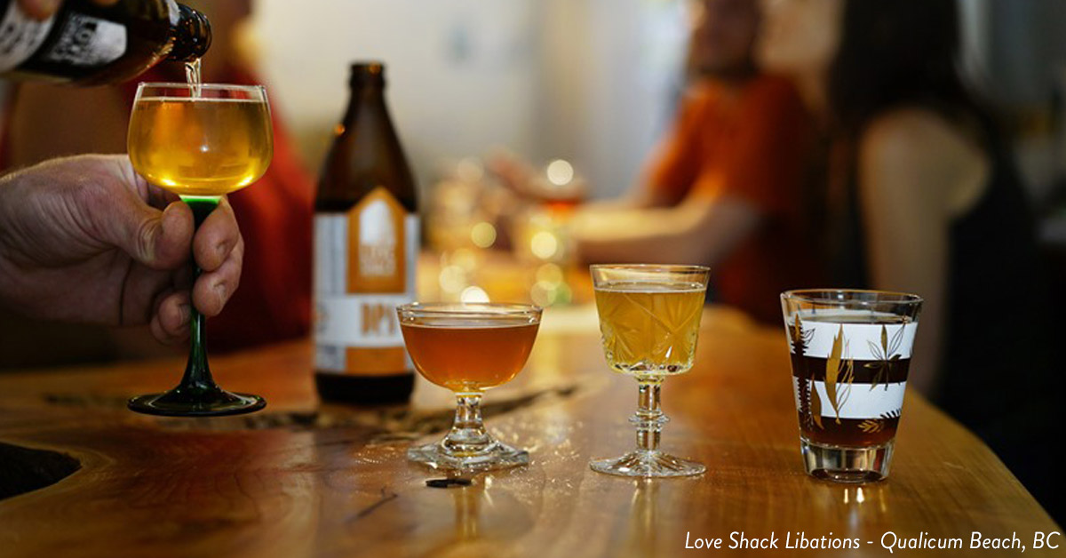 Things to do in Parksville Qualicum Beach Love Shack Libations