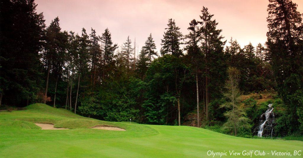 Top golf courses in Victoria BC