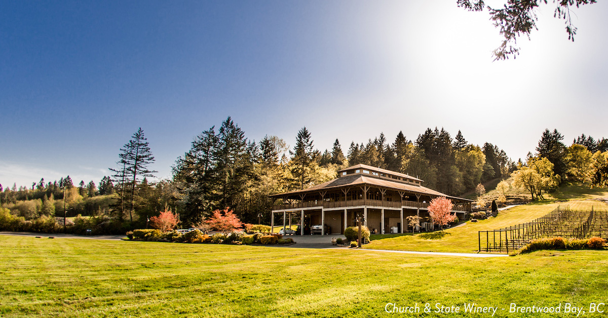 Wineries near golf courses in Victoria BC