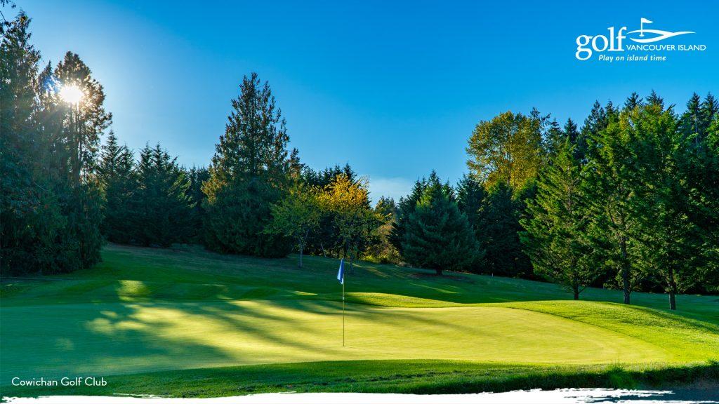 Cowichan Golf Club Zoom Background